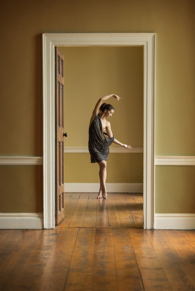 A piece of fine art art photography titled The Doorway by Ross Oscar