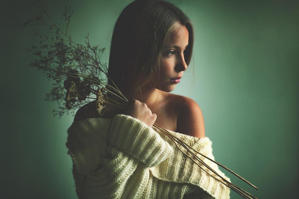 A piece of fine art art photography titled Varvara by Kharinova Uliana