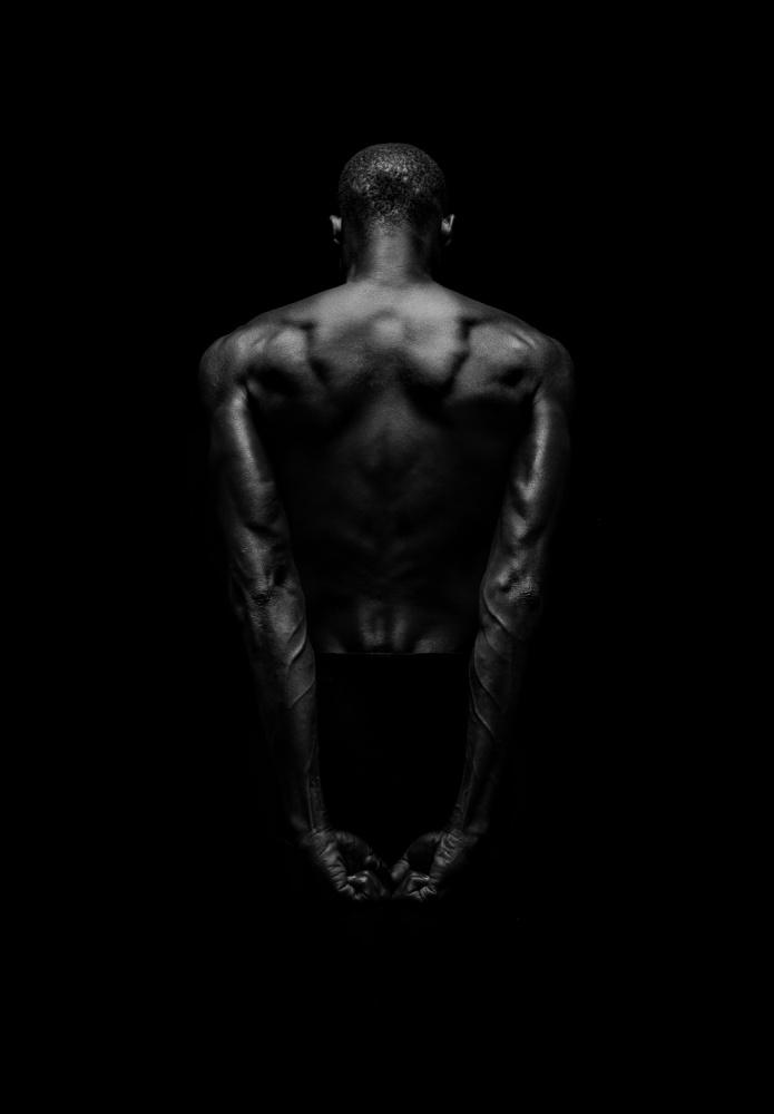 A piece of fine art art photography titled Black Back by Patrick Odorizzi