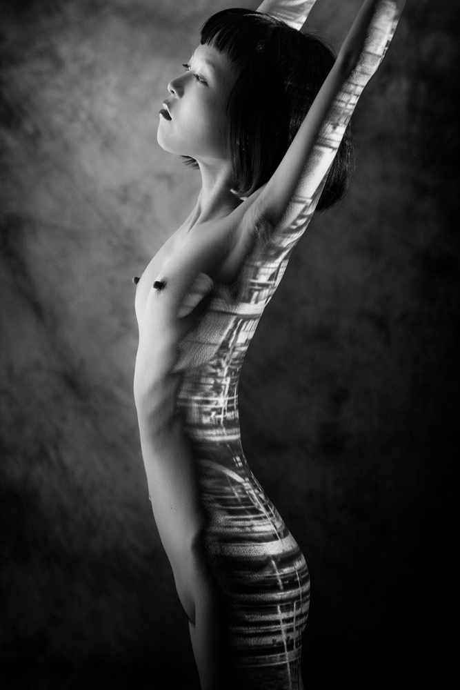 A piece of fine art art photography titled Untitled by Nobuhiro Ishida