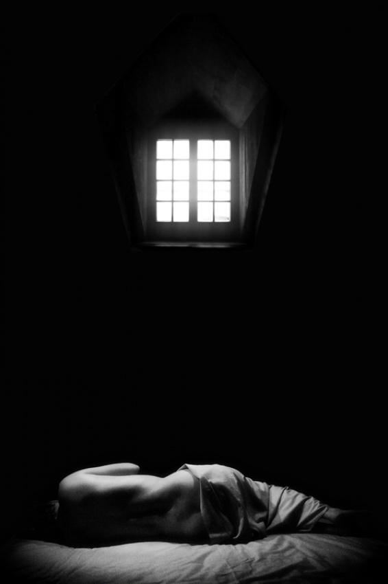 A piece of fine art art photography titled Forgotten by Michel Feugeas