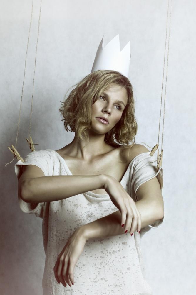 A piece of fine art art photography titled Princess by Martina Dorkinova