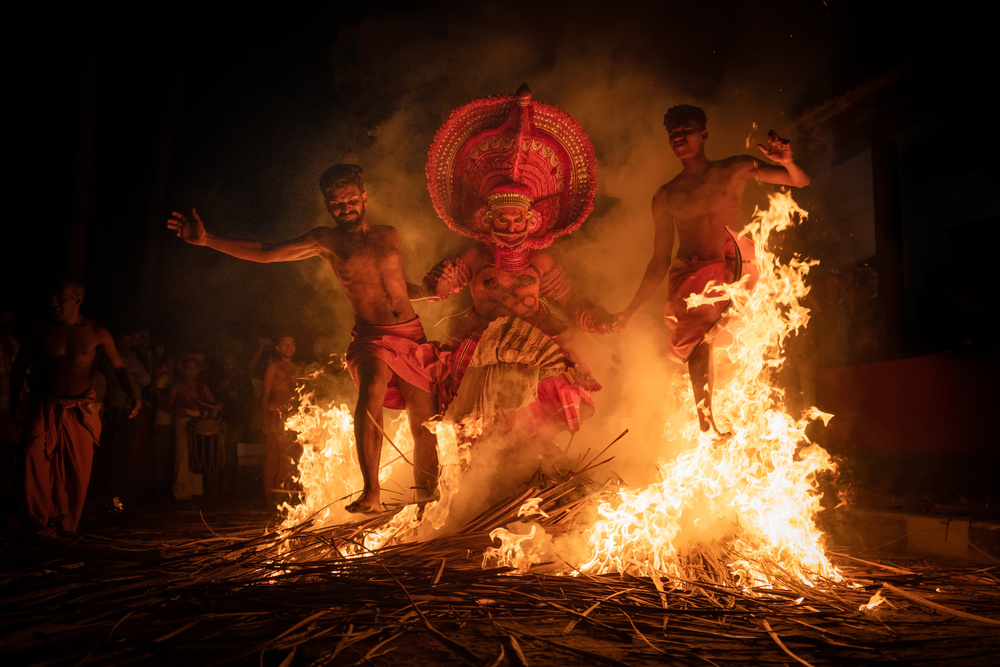 View this piece of fine art photography titled The Fire_ML_3678_F.jpg by Manish Lakhani