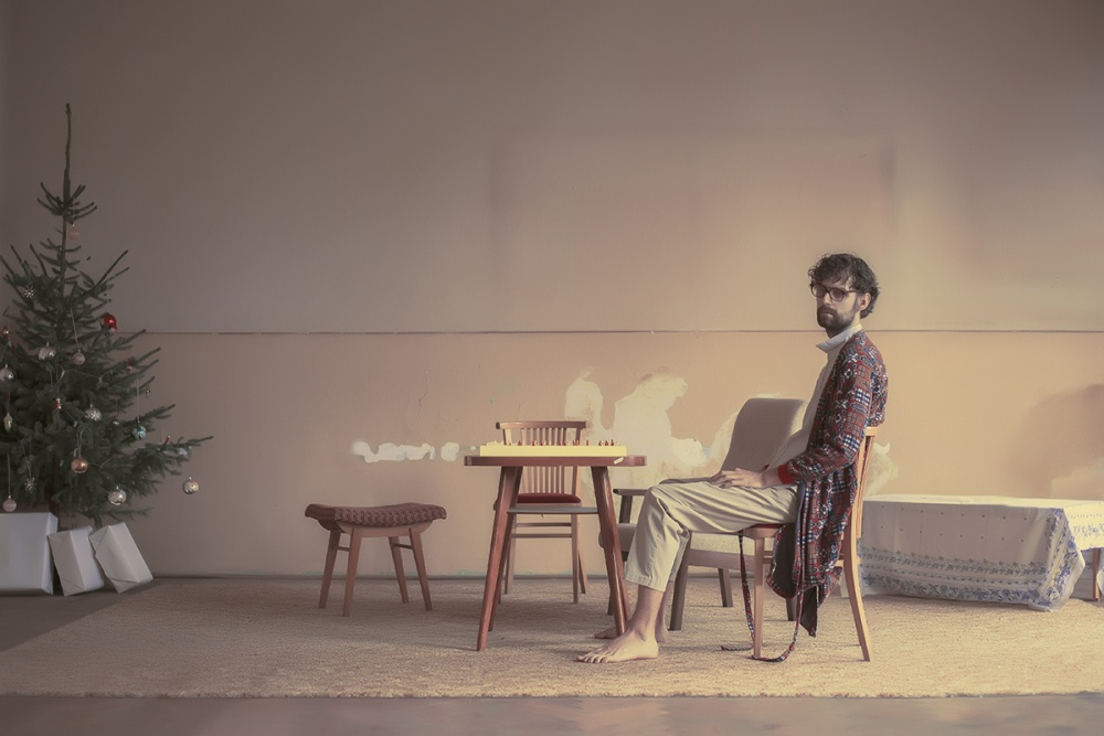 A piece of fine art art photography titled Alone by Maria Svarbova