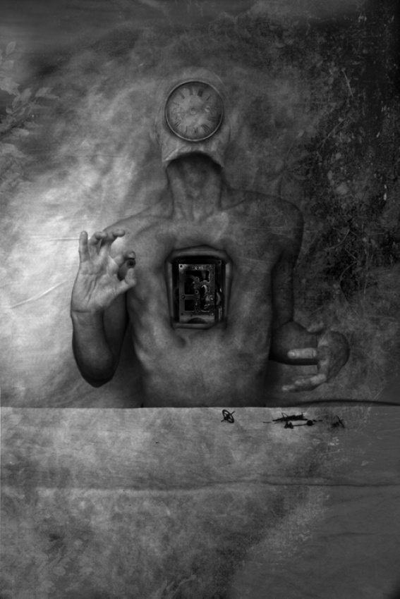 A piece of fine art art photography titled Patient No°7 by Solanin