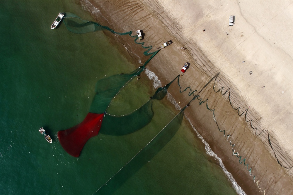 A piece of fine art art photography titled UAE Coasts by Shoayb Hesham Khattab