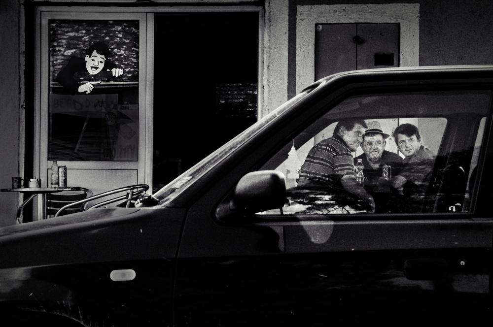 A piece of fine art art photography titled Framed by Olivera Radmanovic