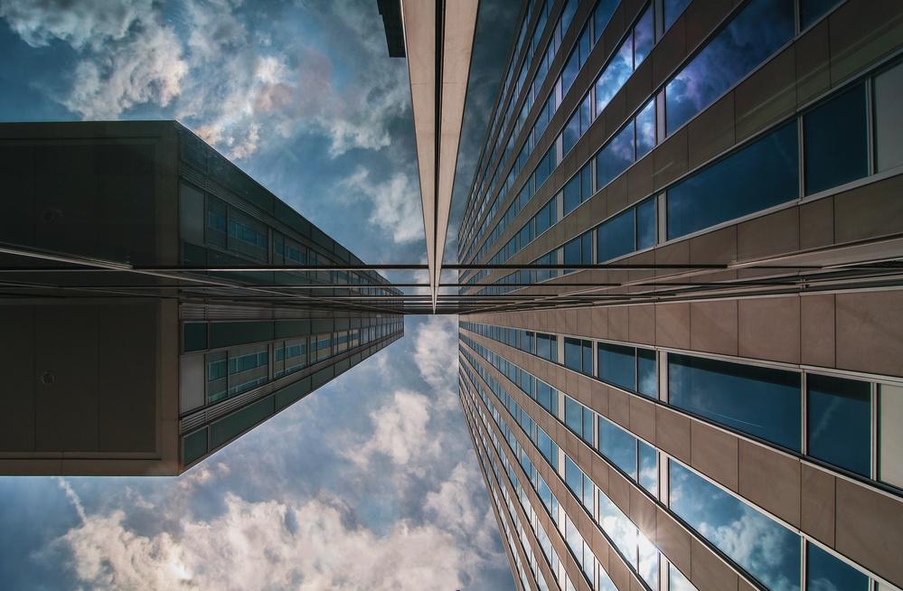A piece of fine art art photography titled Meeting Point by Henk van Maastricht