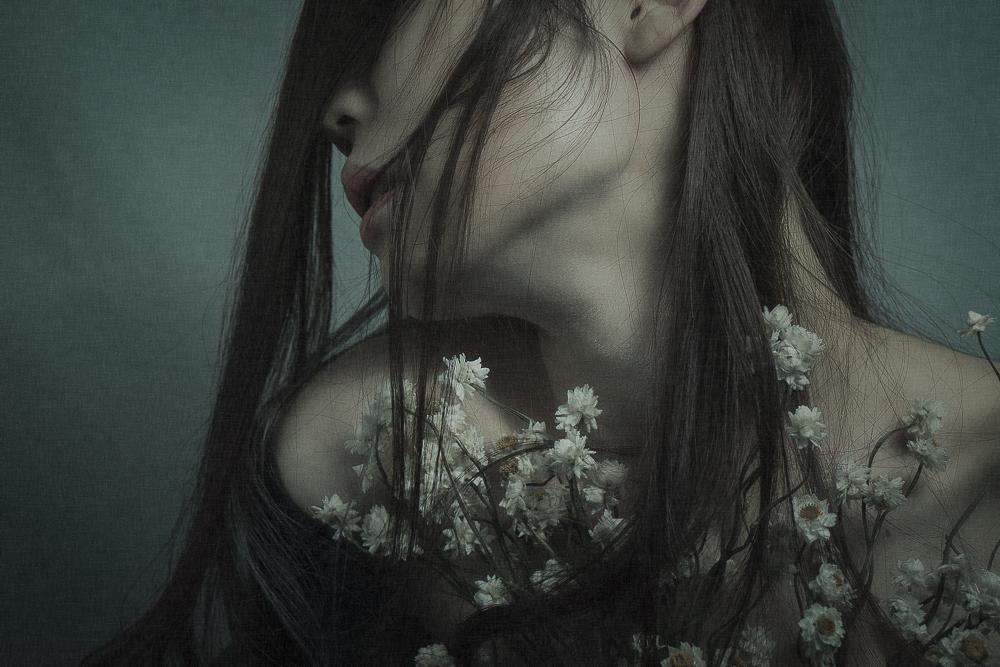 A piece of fine art art photography titled Kana by kouji maruyama