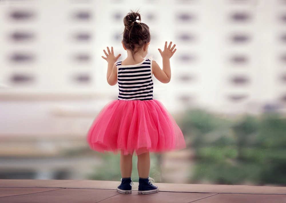 A piece of fine art art photography titled Big World by Suzy Mead