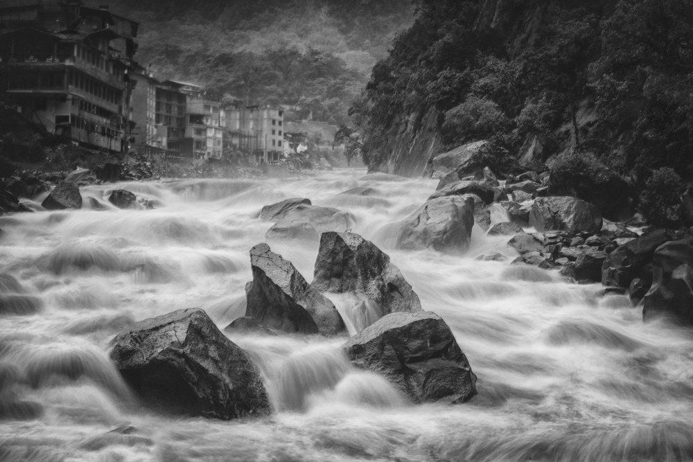 A piece of fine art art photography titled Aguas Calientes by Richard Huang