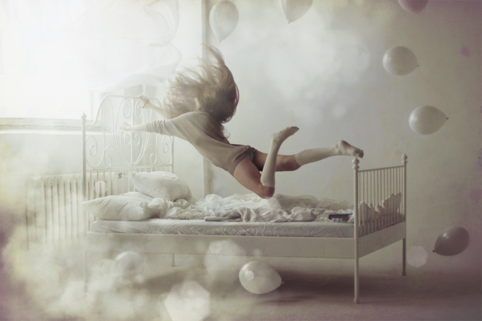 A piece of fine art art photography titled Flyme by Ley Panina