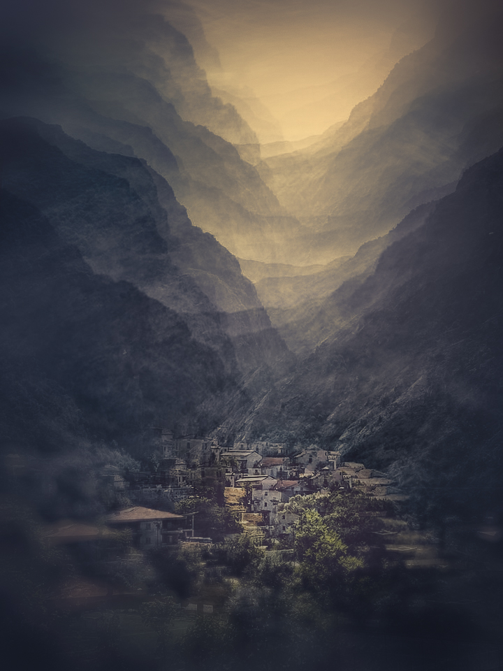 A piece of fine art art photography titled Fara San Martino  - Italy by Carla DLM