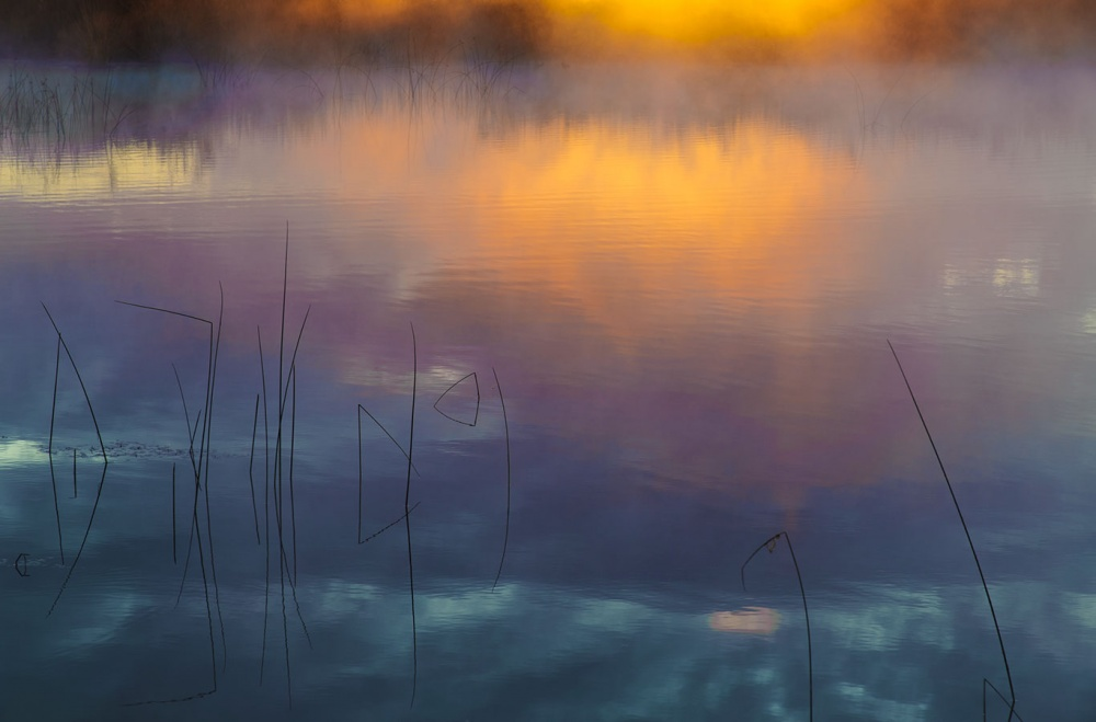 A piece of fine art art photography titled Estany by Luis Antonio Gil Pellin