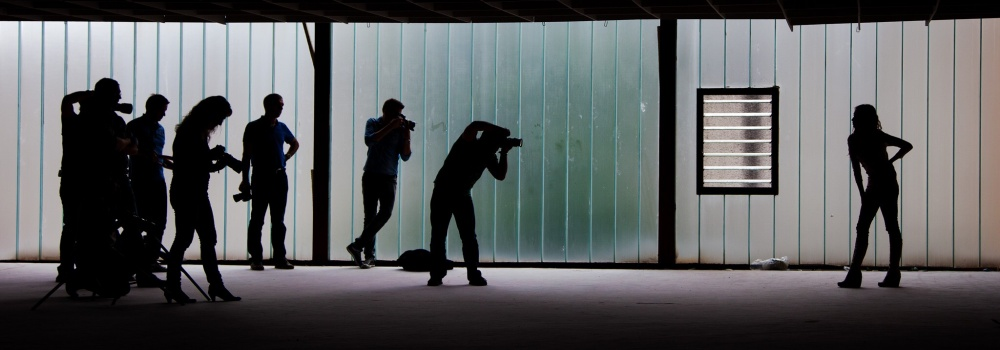 A piece of fine art art photography titled Shooting by Christian Pabst