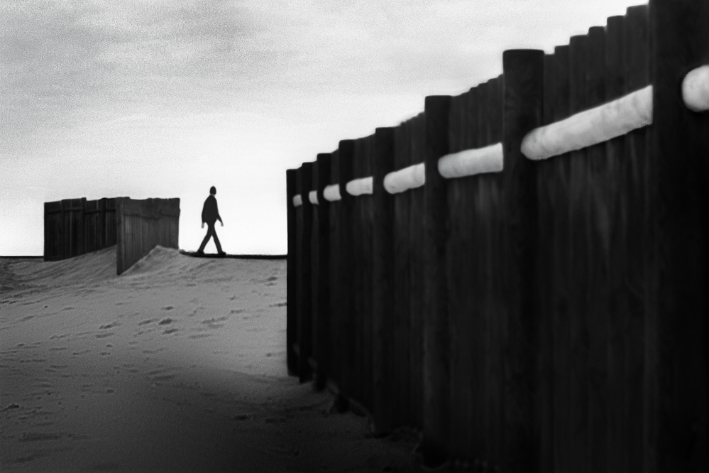 A piece of fine art art photography titled Thought Through by Paulo Abrantes