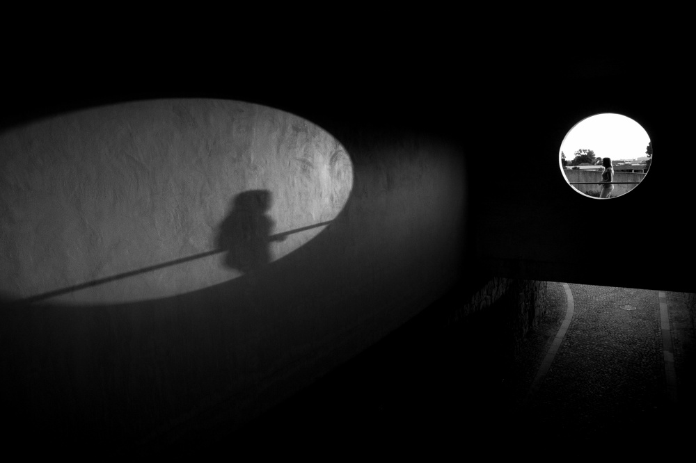 A piece of fine art art photography titled Shadows by Nelson Gonçalves