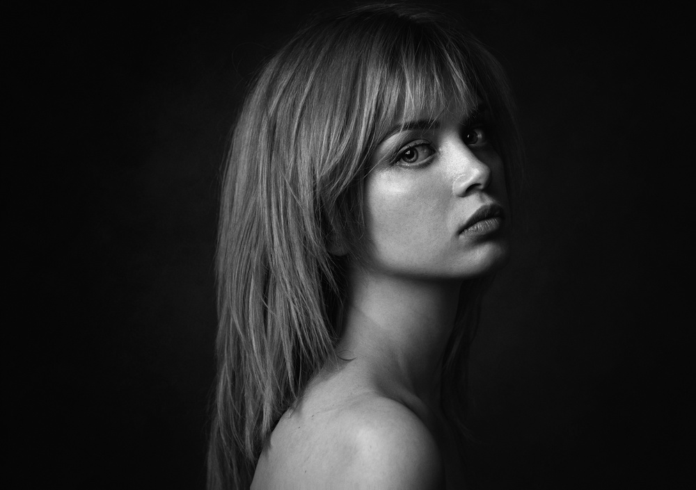 A piece of fine art art photography titled Maria by Zachar Rise