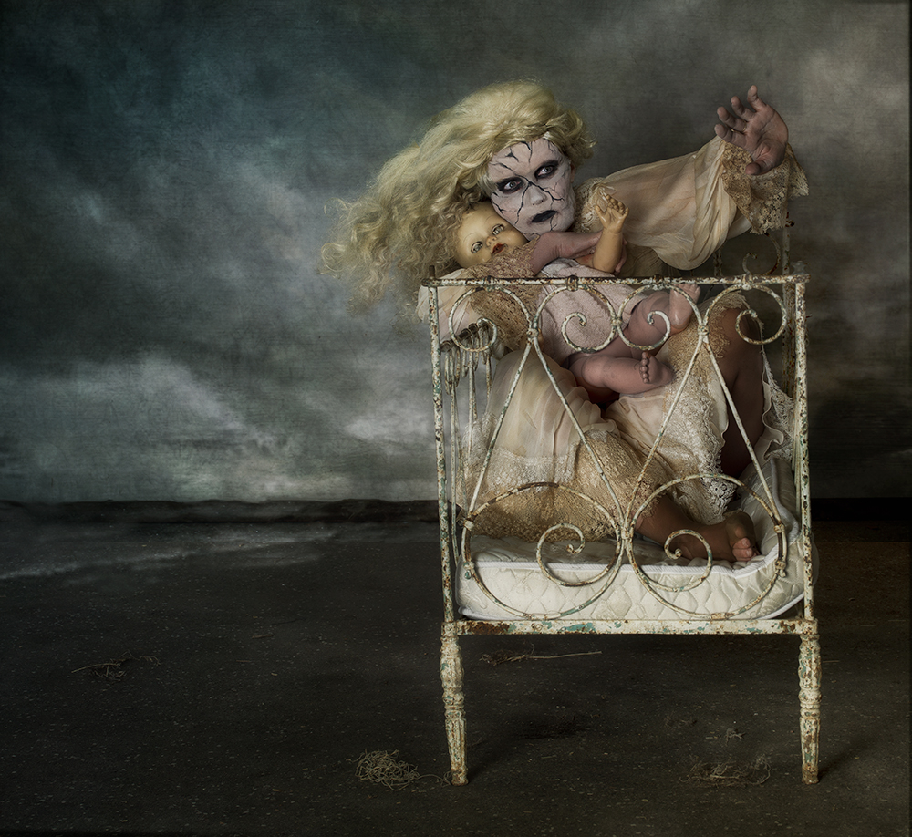 A piece of fine art art photography titled Against  by Peter Kemp