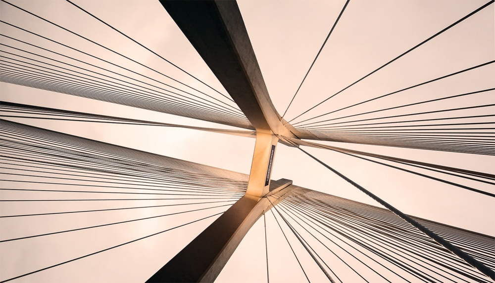 A piece of fine art art photography titled The Bridge by Darek