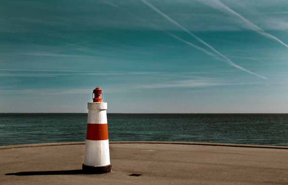 A piece of fine art art photography titled The Pier by Niels Christian Wulff