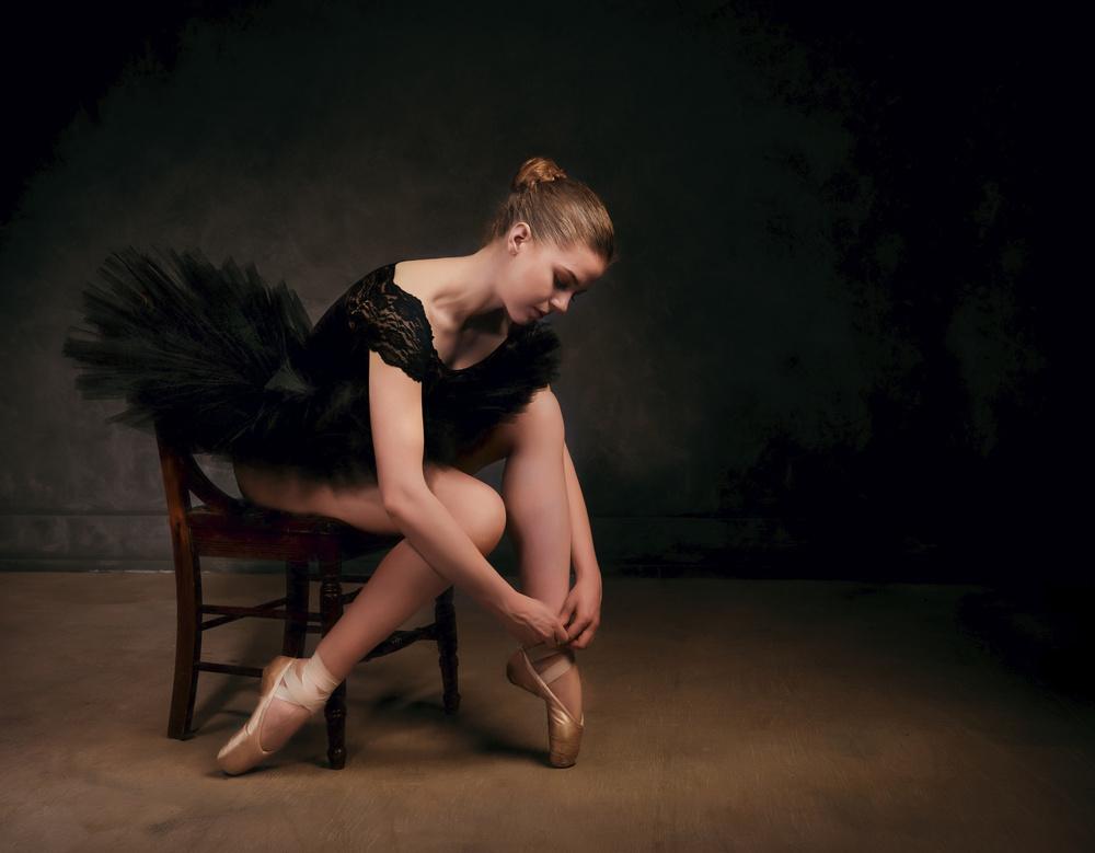 A piece of fine art art photography titled Ballet by Dennis Bater