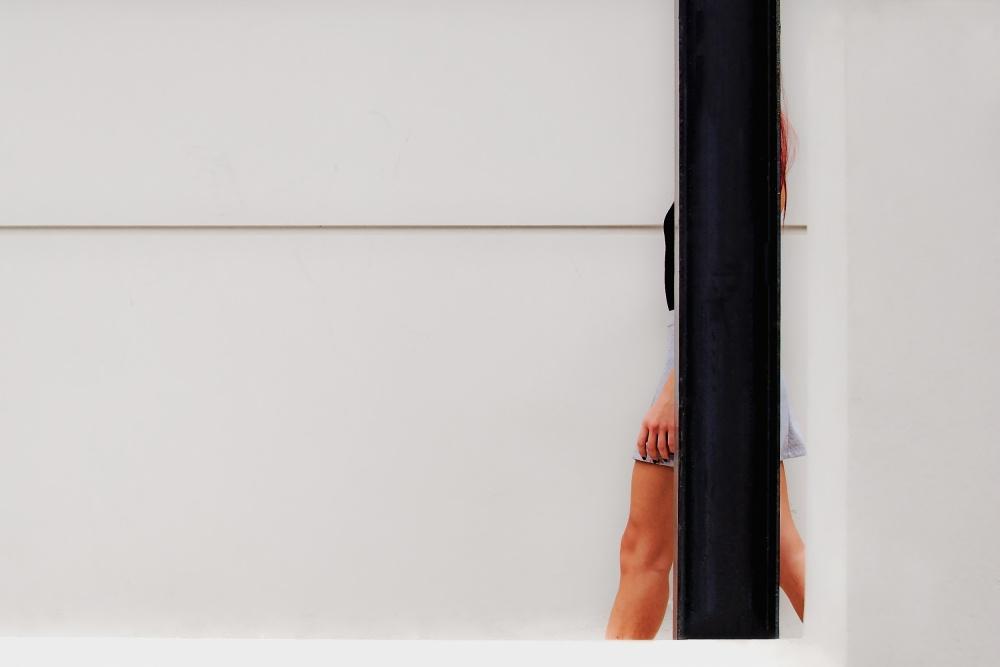 A piece of fine art art photography titled Interruption by Yannis Economou