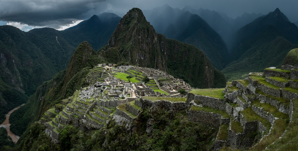 A piece of fine art art photography titled Machu Picchu, Peru by Helena Normark