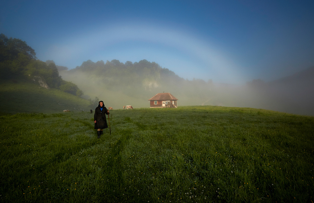 A piece of fine art art photography titled  the Romanian Paradise by Marius Petric