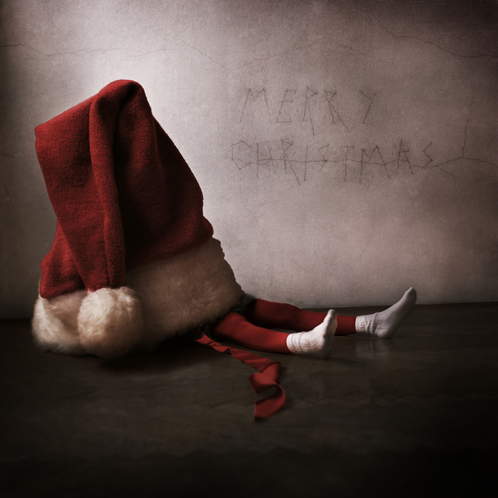 A piece of fine art art photography titled Dear Santa by Anja Matko