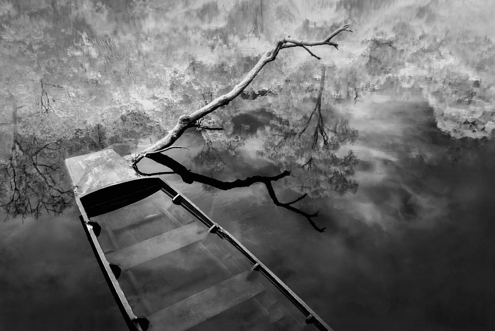 A piece of fine art art photography titled Release by Ekkachai Khemkum
