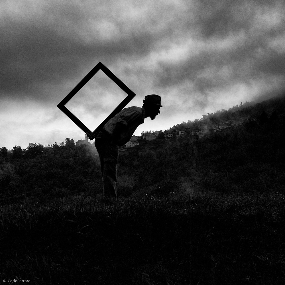 View this piece of fine art photography titled The weight of nothing by Carlo Ferrara