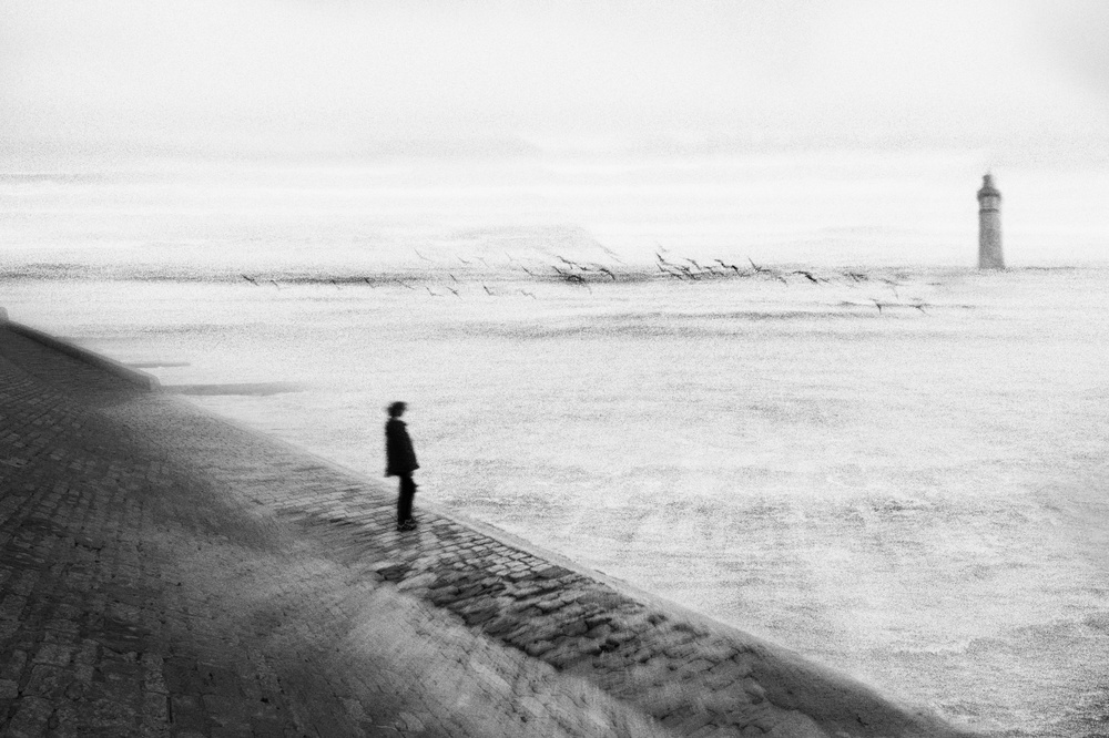 A piece of fine art art photography titled L'envol by eric drigny