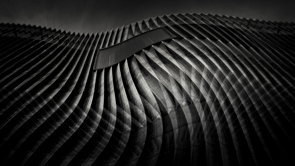 A piece of fine art art photography titled Urbanfobia 11 by alexandru crisan