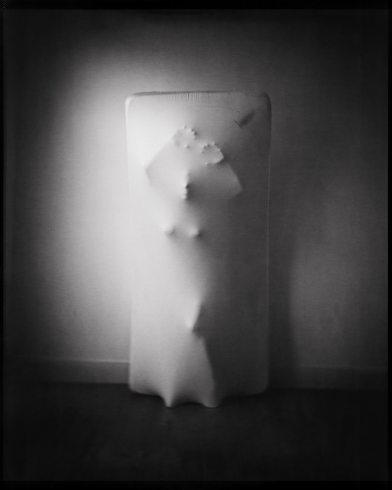 A piece of fine art art photography titled Madame Carbonite by Matthias Leberle