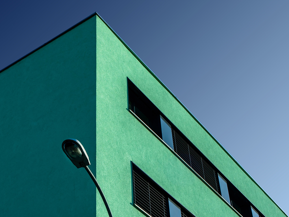 A piece of fine art art photography titled Urban Composition by Eric Chatelain