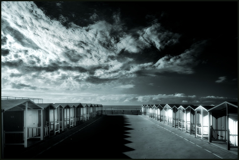 A piece of fine art art photography titled Closed for Clouds by Franco Farina