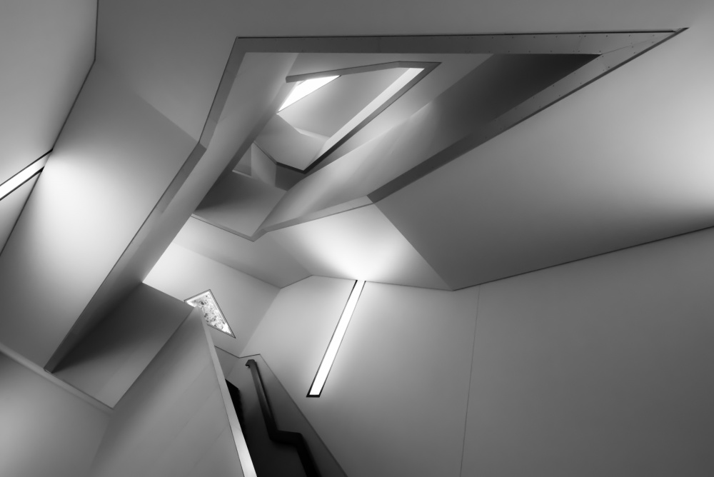 A piece of fine art art photography titled Staircase by Thierry Jung