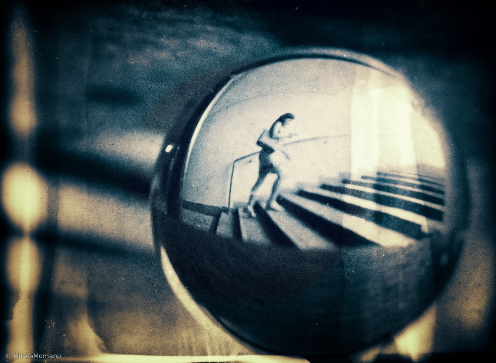 View this piece of fine art photography titled Inside Her World by Mirela Momanu
