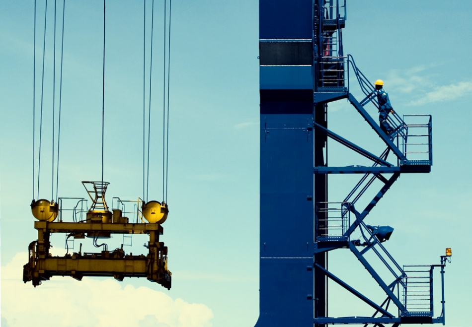 A piece of fine art art photography titled Safety Crew by Thaib Chaidar