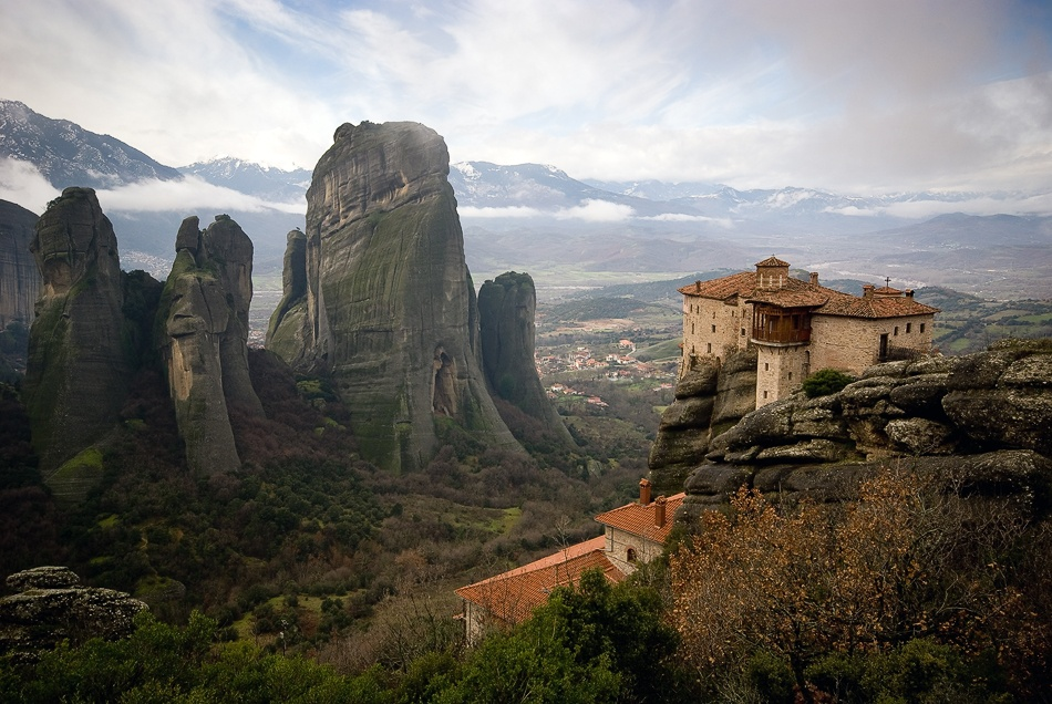 A piece of fine art art photography titled Meteora by João Pedro Neves