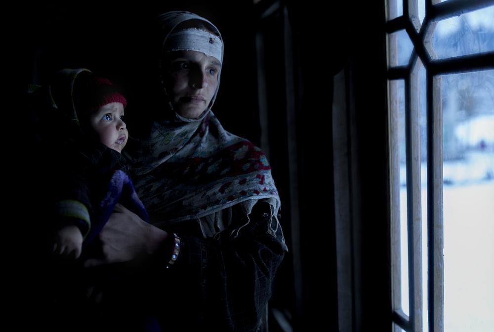 A piece of fine art art photography titled Kashmiri Family by Haitham AL Farsi
