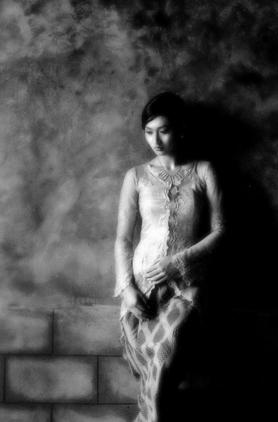 A piece of fine art art photography titled Think About by Saepul Jamal { S-je }