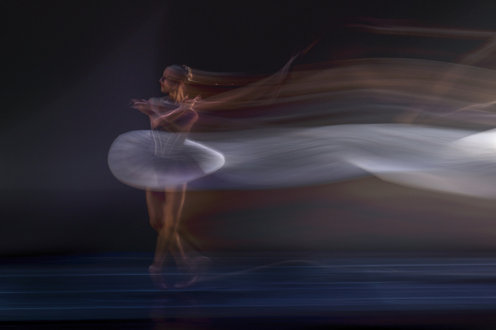 A piece of fine art art photography titled Ballerina by Libby Zhang