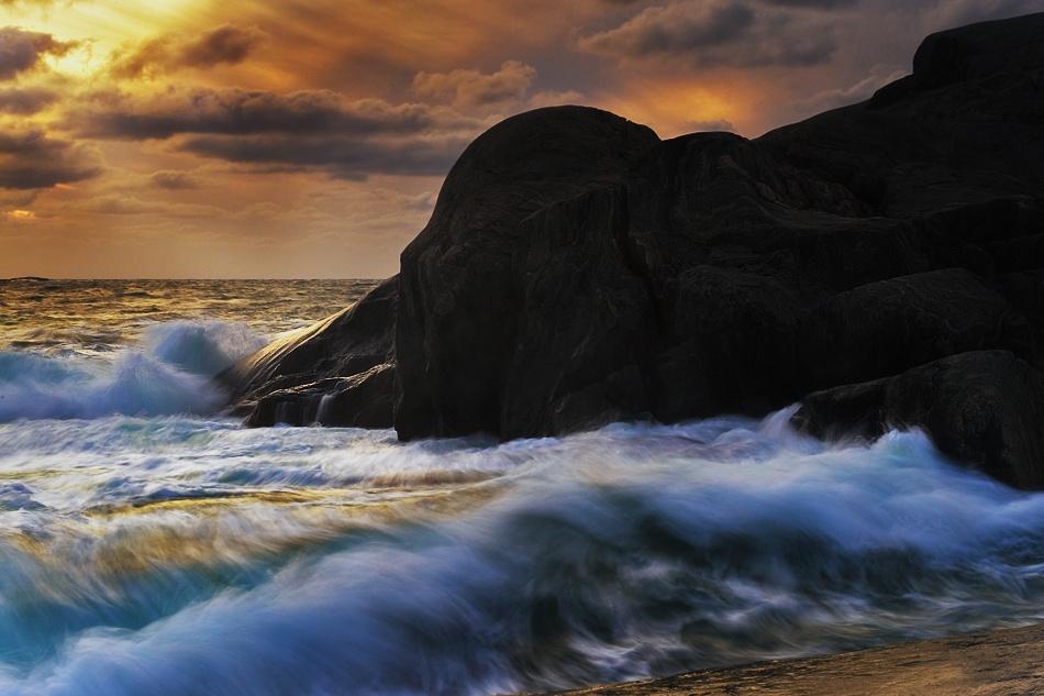 rocks & water III