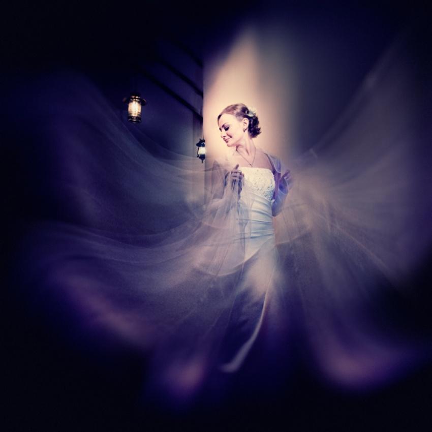 A piece of fine art art photography titled Butterfly by Alexander Mikhailenko (studio 37th)