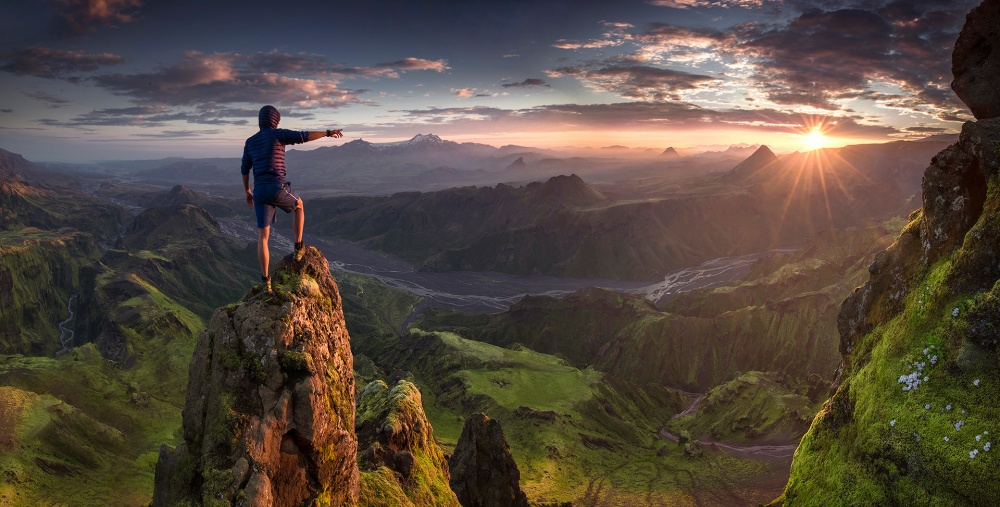 A piece of fine art art photography titled First Contact by Max Rive