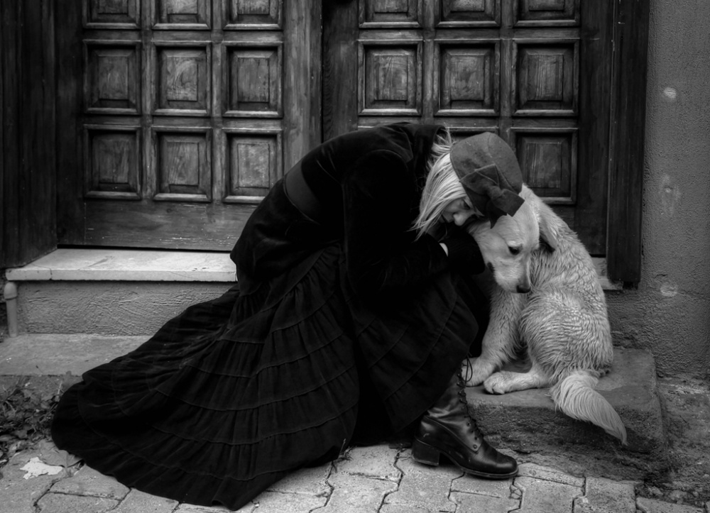 A piece of fine art art photography titled Sadness by enginbasa