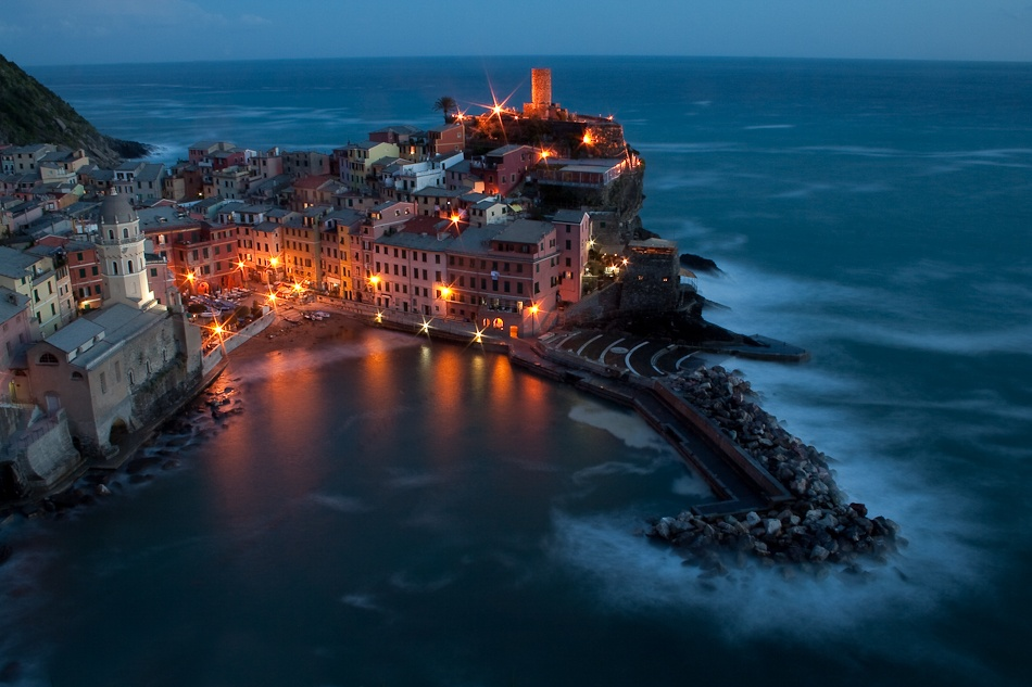 A piece of fine art art photography titled Vernazza by Ales Farcnik