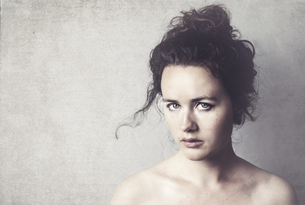 A piece of fine art art photography titled Denise by Ilse Noordhof